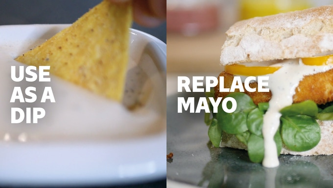 Dunk your nachos into our dressings or add them as a replacement for mayonnaise to sandwiches and wraps. You can even use it instead of pesto.