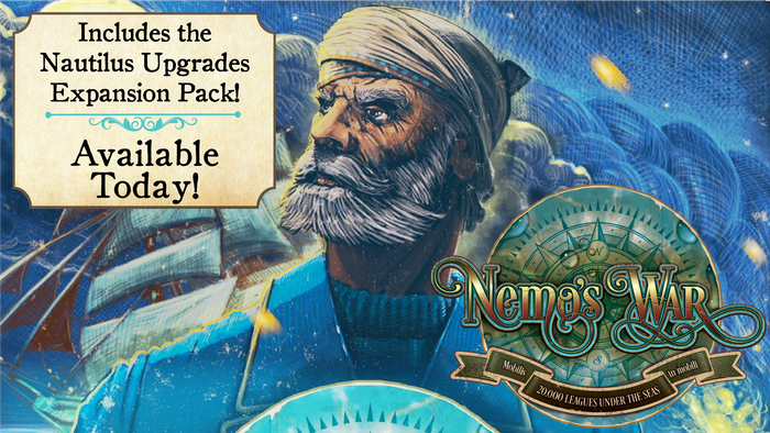 Discover the new Nautilus Upgrades in Expansion Pack #1. Your next voyage just got a lot more interesting!