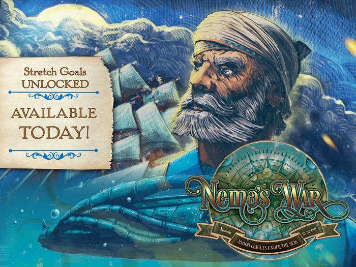 Be Captain Nemo and set sail in your amazing submarine, the Nautilus. Prepare yourself for the adventure of a lifetime!