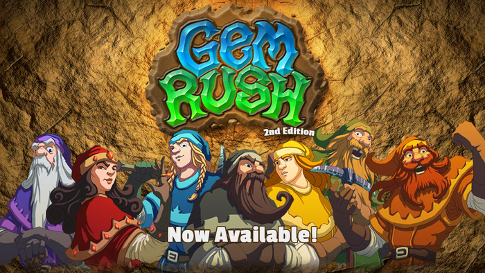 Mine for gems and untold wealth in Gem Rush: Second Edition!