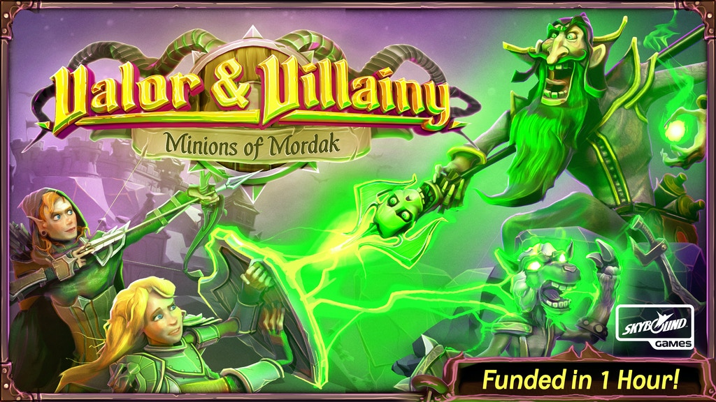 Valor & Villainy: Minions of Mordak project video thumbnail