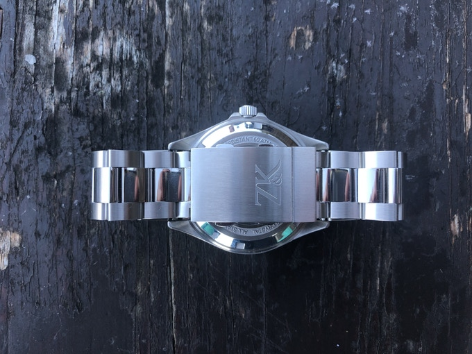 Brushed and Mirror Polished Stainless or Titanium Bracelet