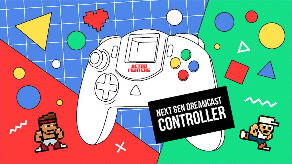 Next Gen Dreamcast Controller
