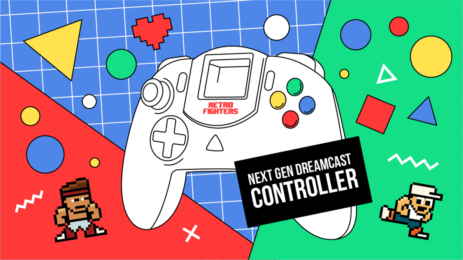 Creating a modern and ergonomic designed Dreamcast Controller