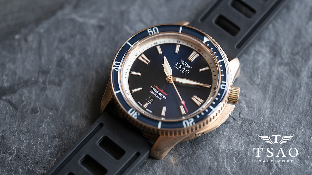 LIMITED EDITION AUTOMATIC DIVE WATCH - TORSK-DIVER