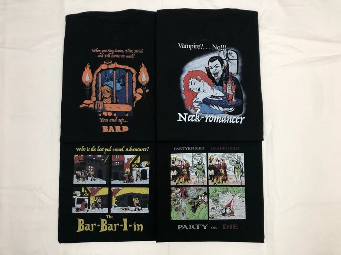 All Four Gimmicky T-Shirts