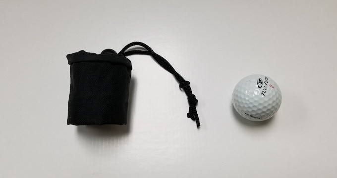 Packs to the Size of a Golf Ball