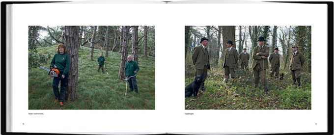 A Place In The Country, published by ©Dewi Lewis, photographs ©Chris Steele-Perkins