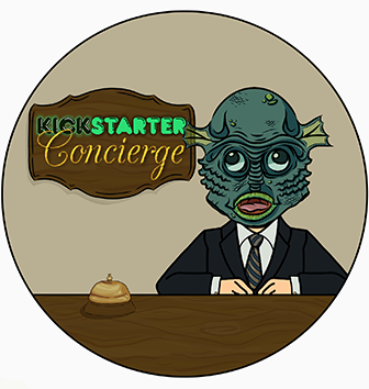 Behold! It is James, your contact person for this kickstarter campaign! And an agent of the Undersea Realm!