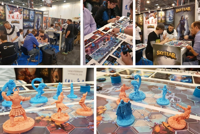 Some pics from our booth at Essen SPIEL 2018
