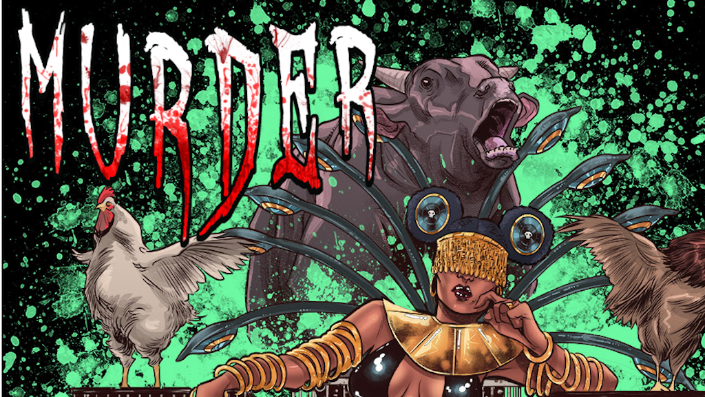 Murder issue #2 project video thumbnail