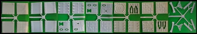 Our existing modular plastic scenery tiles range.