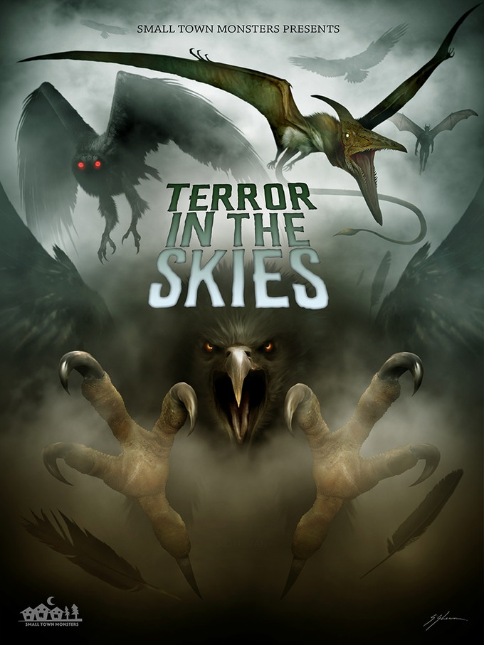Terror in the Skies (poster by Sam Shearon)