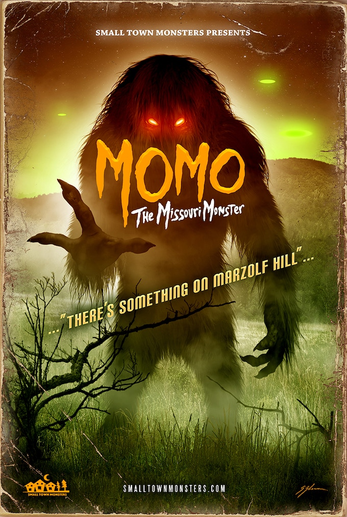 MOMO: The Missouri Monster (poster by Sam Shearon)
