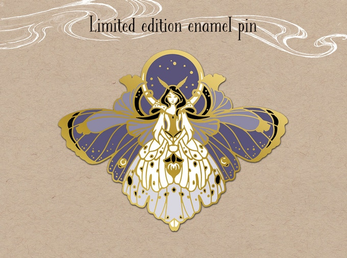 Limited Edition Moth Pin