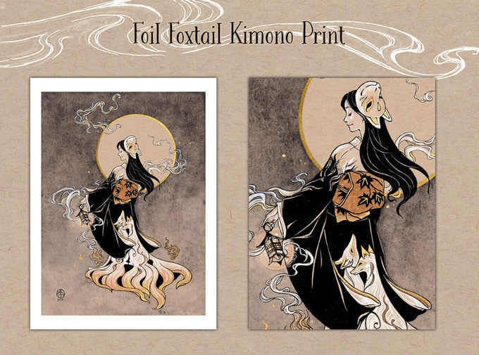 Kitsune Print