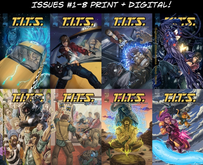 All 8 issues available in print & digital formats.