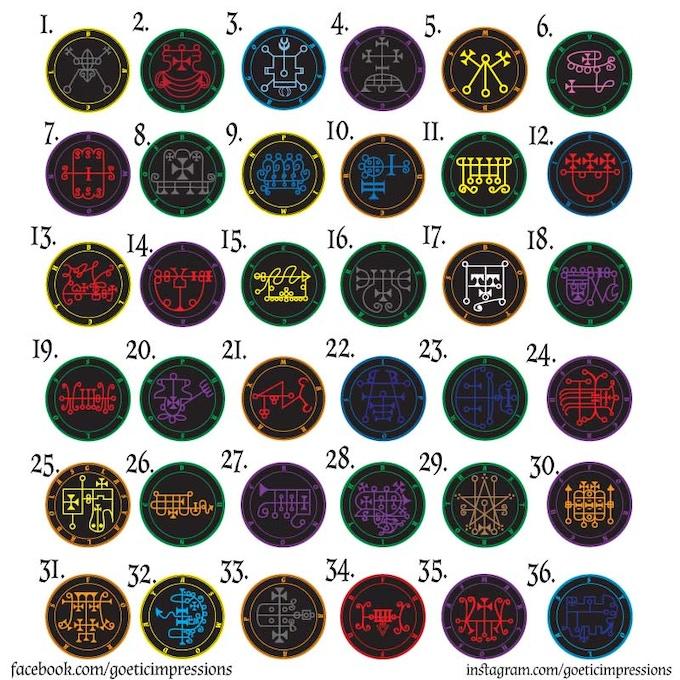 First 36 Medallion Designs