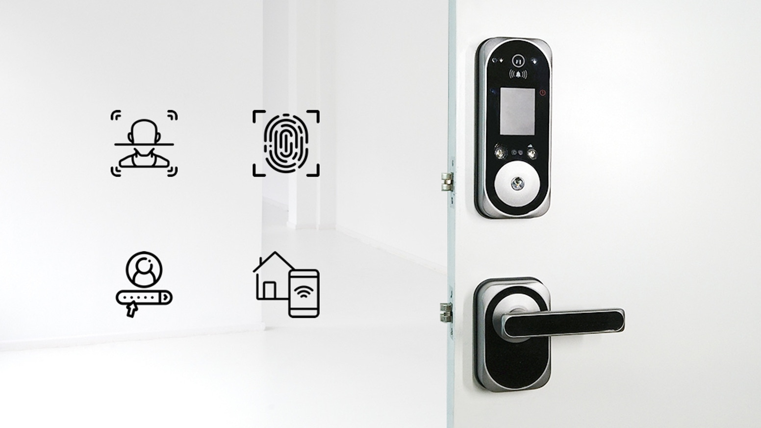 US:E - Camera Equipped Smart Lock with Facial Recognition