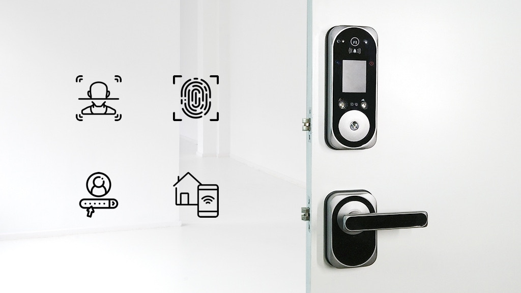 US:E - Camera Equipped Smart Lock with Facial Recognition project video thumbnail