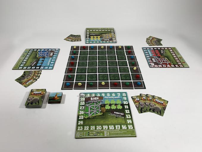 4 Player Game Setup