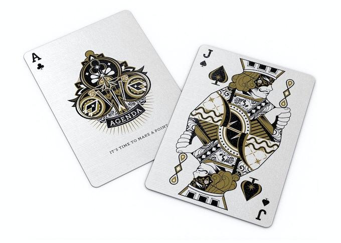 Agenda Playing Cards Facade by Flagrant Agenda — Kickstarter