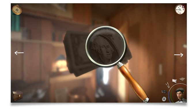 Utilisez votre loupe pour déceler des objets et indices cachés