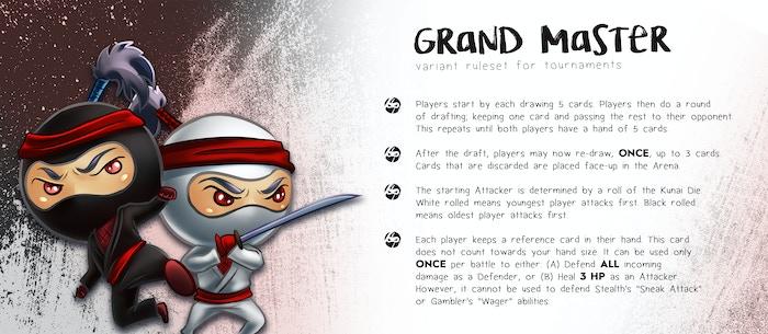 Tiny Ninjas - Battle in a Box by 2niverse Games — Kickstarter