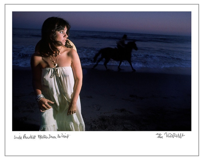 "Linda Ronstadt ""Hasten Down the Wind"" (8x10 choice)"