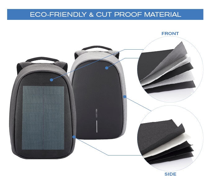 We used ECO-friendly materials for both the Bobby Pro & Bobby Tech.