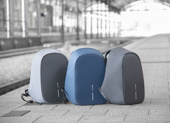 A durable and every-day backpack requires timeless colors. We offer the Bobby Pro in Grey, Blue and Black. Colors that will simply never run out of style!