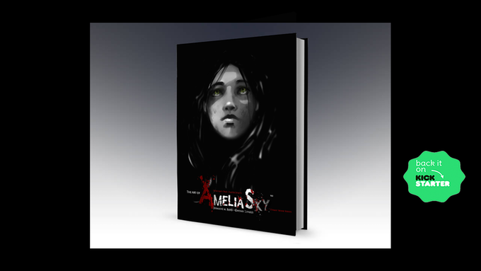 "Exclusive Kickstarter ""The Art of Amelia Sky"" Photo Book"