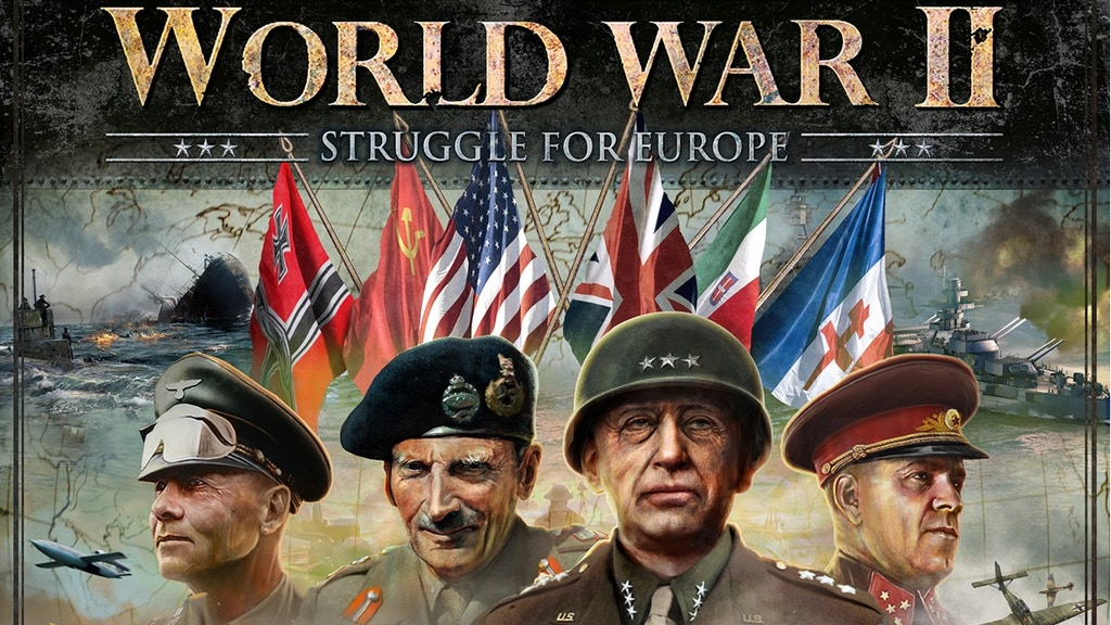 The Struggle for Europe 1939-1945 project video thumbnail