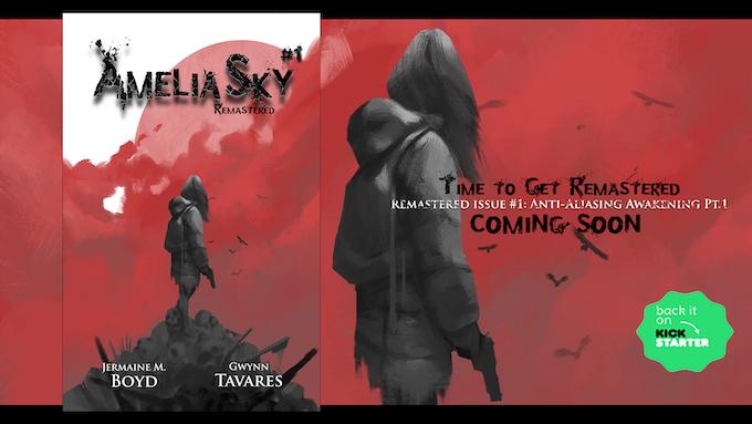 Exclusive Kickstarter Physical Copy of Issue #1 Anti-Aliasing Awakening Pt.1 Remastered
