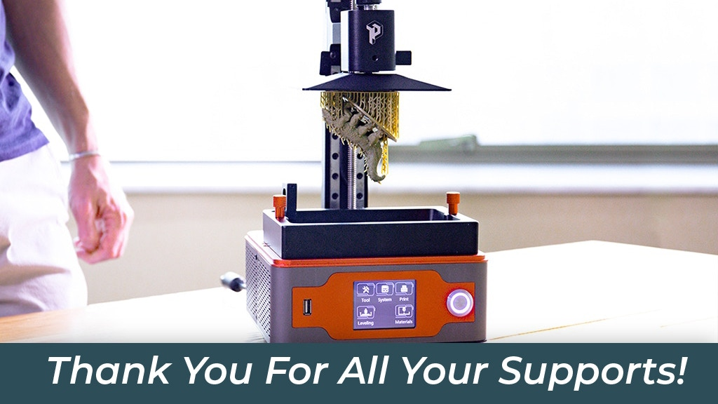 Paladin, The Most Affordable All-Metal SLA 3D Printer project video thumbnail