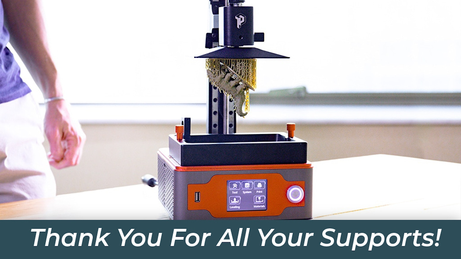 Paladin, The Most Affordable All-Metal SLA 3D Printer by