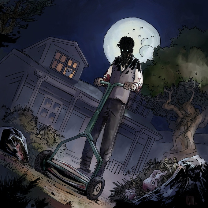 Promotional artwork for Undad Vol 3 by Matias Lazaro.