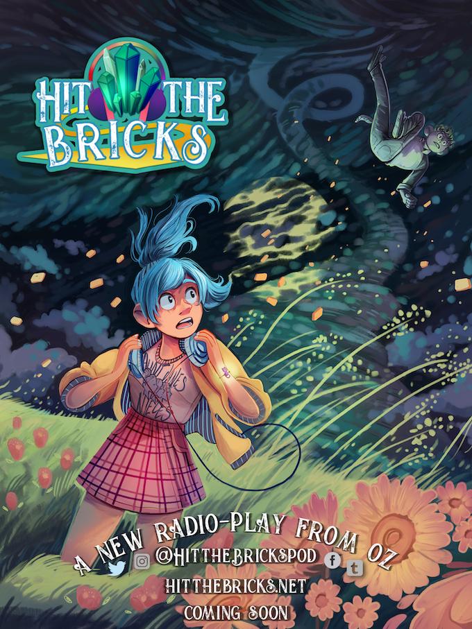 Hit the Bricks : A Musical Radio-Play from Oz by PJ Scott