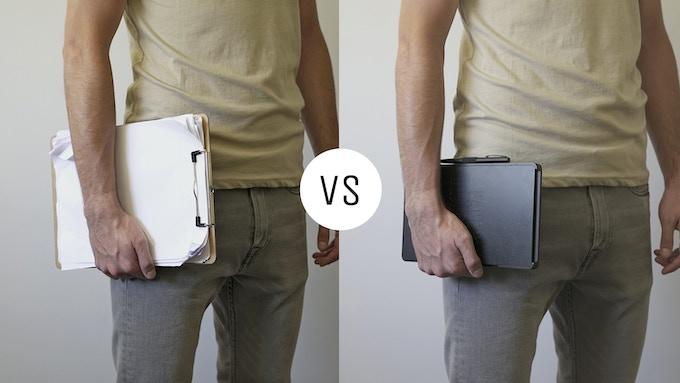 Clipboard vs Paper Guardian