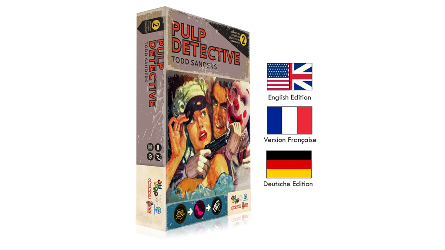 Second expansion for Pulp Detective