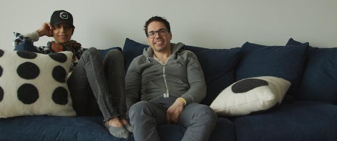 Dominique Crenn and Juan Contreras