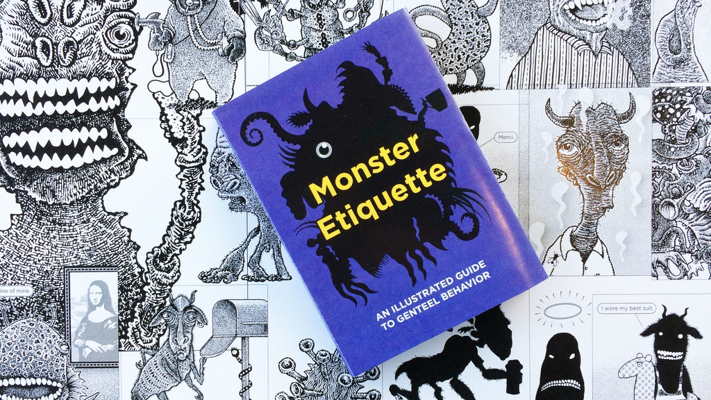 Monster Etiquette: A Book project video thumbnail