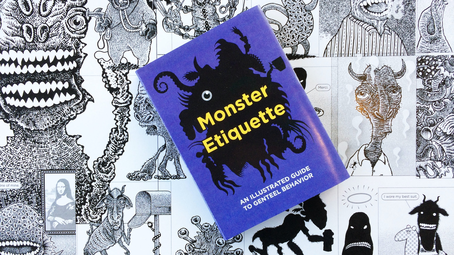 An illustrated guide for monsters, gargoyles, aliens, and nephews.