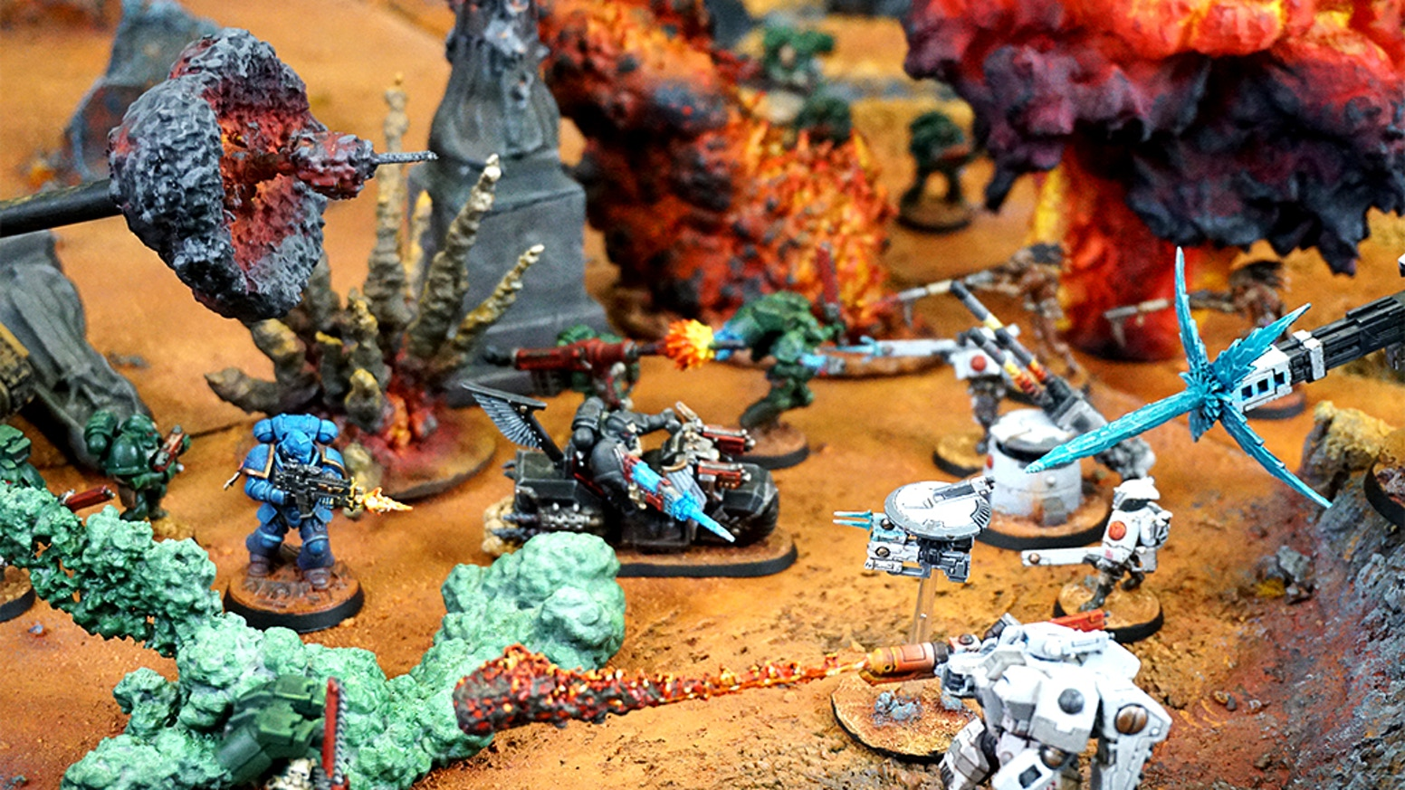 3D Printable FX and destructible scenary for your wargames and tabletop games