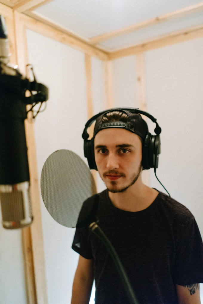Recording Vocals for Looking Up