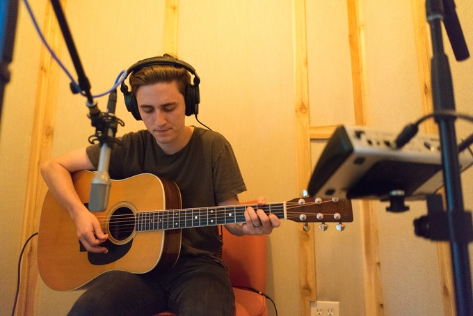 Recording acoustic guitar for Home