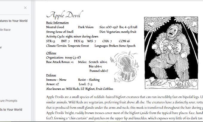 RPG Apple Devil