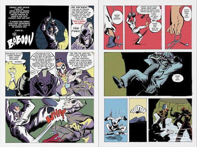 The Baboon preview pages