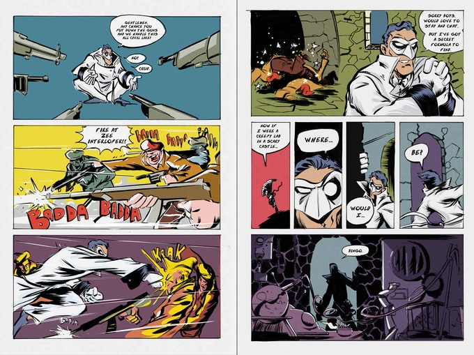 The Baboon preview pages cont.