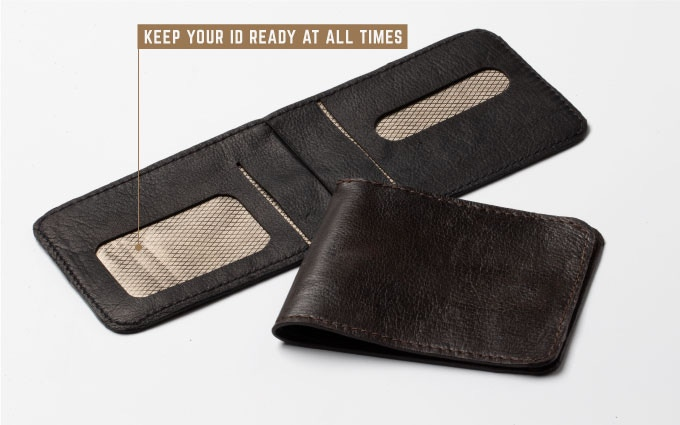 Stealth Wallet - Ultra-Thin, Ultra-Strong 8 Card Wallet by Steve